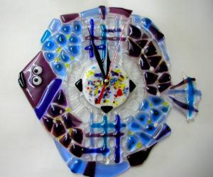 часы-рыбка